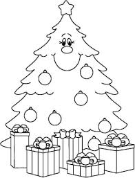 christmas tree with presents coloring pages. Delighful Presents Christmas Tree With Presents Coloring Page 14 To Pages G