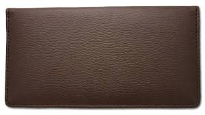 checkbook covers leather brown side tear cover like this product business