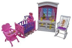 barbie size dollhouse furniture set. My Fancy Life Barbie Dollhouse Furniture New Baby Room Play Set Size T