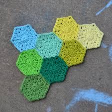 Hexagon Crochet Pattern Mesmerizing Crochet In Color Hexagon Pattern