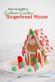 creative graham cracker gingerbread house. Exellent Creative Who Knew Building A Gingerbread House Could Be So Simple Great Tutorial  Including Video Inside Creative Graham Cracker D