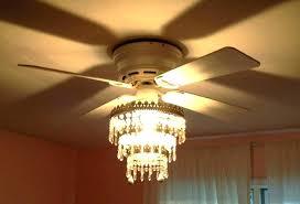fan chandelier combination