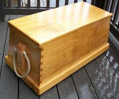 monterey pine sea chest
