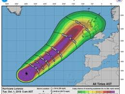 Top Uk Weather Forecaster Confident Lorenzo Will Hit Ireland