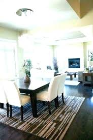 rug under round dining table kitchen carpet amazing and best rugs for room area u