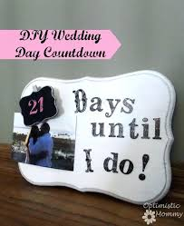 wedding countdown gifts engagement gift day optimistic mommy ideas