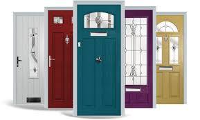 front doors diy or fitted composite doors