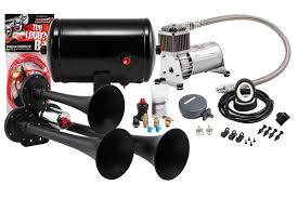 kleinn com model hk3 chrome triple air horn kit hk3 1