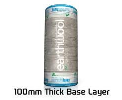 loft insulation 100mm. knauf earthwool loft insulation roll, floor and roof lagging, 100mm thick base layer,