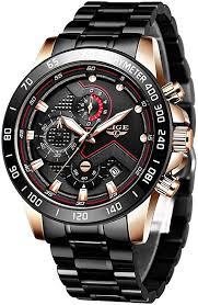 Watch for Men LIGE Business Men Watch Luxury ... - Amazon.com