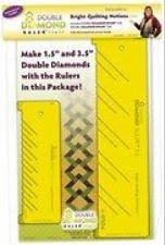 Bright Quilting Notions Ruler Double Diamond   eBay & Bright Quilting Notions Ruler Double Diamond, New, Free Shipping Adamdwight.com