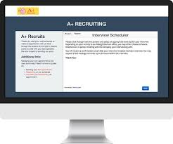 Thank You For Scheduling The Interview Hire The Best Candidates With Online Interview Scheduling