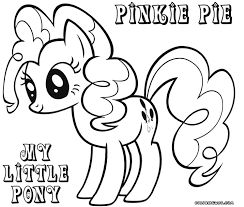Small Picture My Little Pony Coloring Pages Pinkie Pie fablesfromthefriendscom