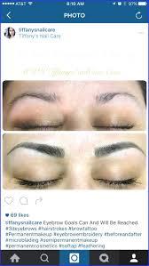 hair stroke eyebrow tattoo cost wonderfully 128 best 3d hair stroke semi permanent makeup images on