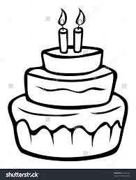 Birthday Cake Drawing Save Birthday Cake Drawing Cartoon At