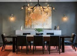 inspiring mid century modern dining room lighting and the intended for decorations 1