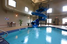 indoor pool and hot tub with a slide. Pool Hot Tub Waterslides Indoor And With A Slide H