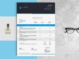 Design An Invoice Elegant Invoice Template