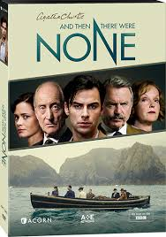 and then there were none by agatha christie agatha christie and then there were none dvd us cover