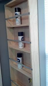 wood storage spray paint cabinet