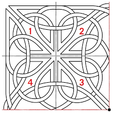 Celtic Pattern Mesmerizing Free Pattern Celtic Knot Quilting Design AQS Blog
