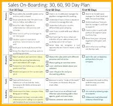10 30 60 90 Day Sales Plan Etciscoming