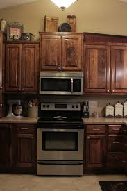 Rustic Beech Cabinets Rustic Beech W Red Mahogany Stain Saw Creations