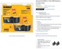 Dewalt Battery Comparison Chart Toolguyd