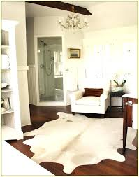 white faux rug white faux cowhide rug home rugs ideas with regard to animal skin white