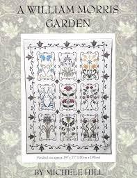 William Morris Garden Art Nouveau Quilt Pattern Michele Hill Set & A William Morris Garden Art Nouveau Quilt Pattern Michele Hill Set Adamdwight.com