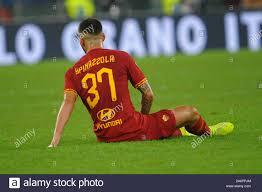 infortunio leonardo spinazzola (roma) during AS Roma vs AC Milan, Roma,  Italy, 27 Oct 2019, Soccer Italian Soccer Serie A Men Championship Stock  Photo - Alamy