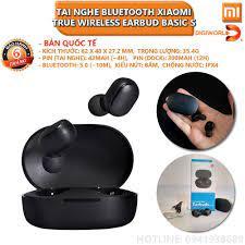 Tai nghe bluetooth xiaomi (Tai nghe bluetooth Mini Xiaomi) Bluetooth 5.0 Earbuds  Basic S True Wireless chính hãn - Tai nghe Bluetooth nhét Tai
