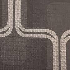 Harlequin Behang Van Zwarte Zilveren Roll Patroon Vinyl Kika Design 60818