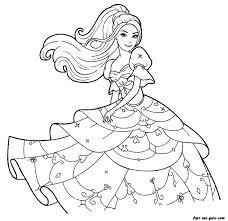 Barbie Mermaid Colouring Barbie Mermaid Coloring Pages To Print