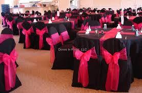 pink and black wedding reception ideas Ideas for Black/Hot Pink and bling  wedding colors?!