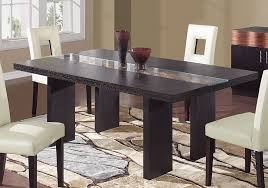 innovative modern dark wood dining table room chairs interior design black wood dining table l78