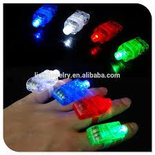 Ring Beams Led Lights Led Finger Light Up Lamp Ring Glow Party Night Club Beams