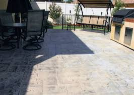 concrete patio costs per square foot cost per square foot size of patio backyard concrete patio