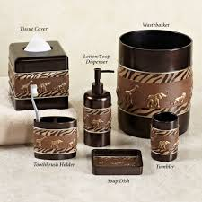 brown bathroom accessories. African American Bathroom Decor Accessories | Home Animal Parade Lotion Soap Dispenser Brown