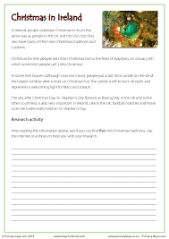 Christmas Traditions Around The World Worksheets Worksheets for ...