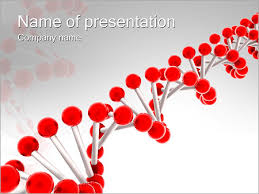 Red Dna Powerpoint Template Backgrounds Google Slides Id