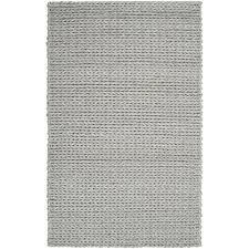 Hand-woven Terni Braided Texture New Zealand Wool Rug ( 5' ...