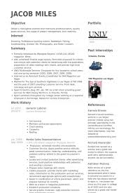 General Labor Resume Template