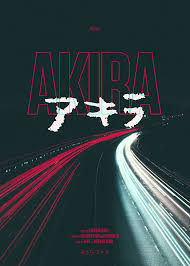 Film Poster Design Online Movieposter Akira 1988 Graphic Design Posters