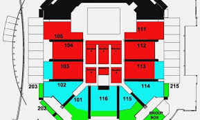 Awesome Ted Constant Center Seating Chart Cooltest Info