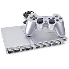 sony playstation 2 slim. evertek wholesale computer parts - sony playstation 2 (ps2) slim game console w/dualshock controller (silver) , sil-scph-77001-pb-r i