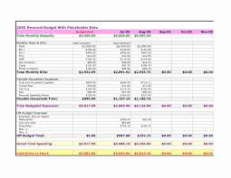 Free Budget Sheet Template Or Monthly Report Template Excel Choice ...