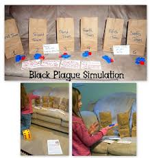 Middle Ages in the 1300s: Black Plague Simulation; Worksheets on ...