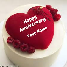 Latest Hd Happy Anniversary Cake Images With Name Twistequill