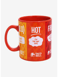 Taco bell continues rapid expansion with launch of 50th restaurant in india. Taco Bell Sauces Mug